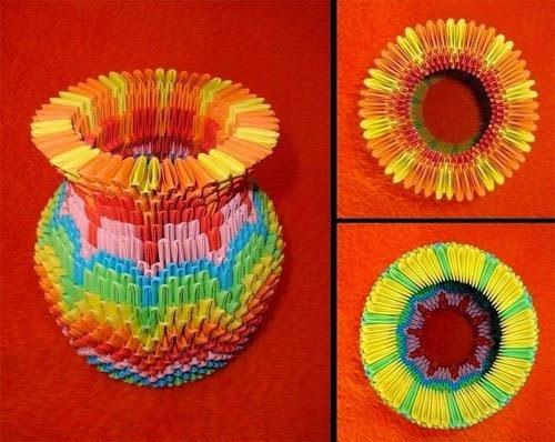Membuat Hiasan Rumah Dari Origami