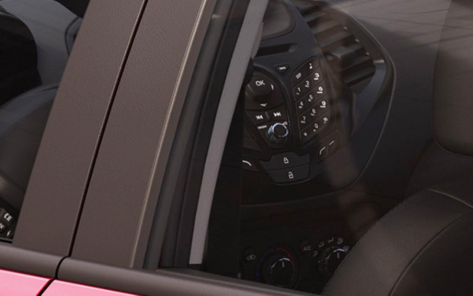 Novo Ford Ka 2015 - interior - painel