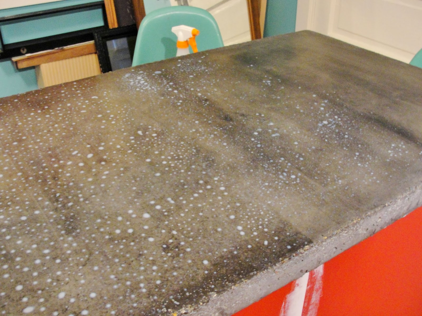 Apartment 528: The Weekender: DIY Concrete Countertops Part II   2.5 Year  Update U0026 Resealing How To