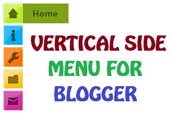 floating/sliding vertical menu