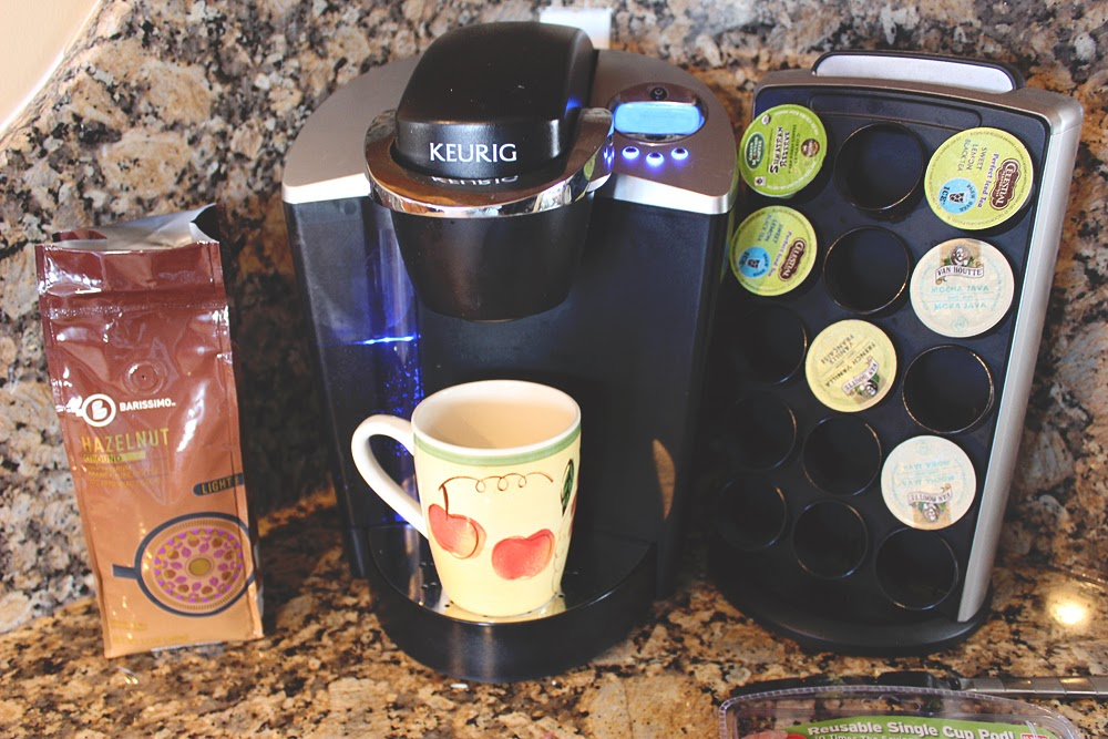 cafe cups, keurig, k-cups, reusable k cups, coconut milk creamer, vegan creamer, coffee,