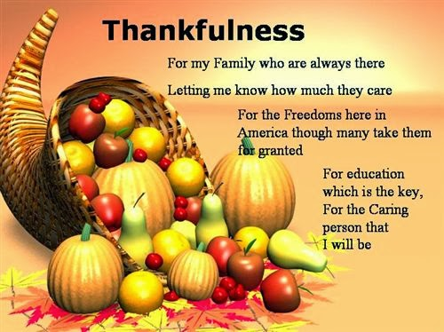 Best Thanksgiving Poems For Family