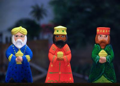 Los 3 Reyes Magos (Melchor, Gaspar y Baltasar)