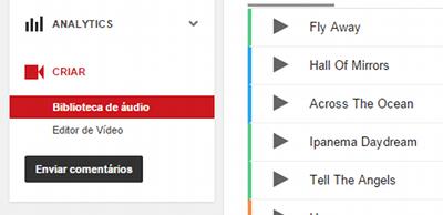 Como baixar música de fundo para vídeos