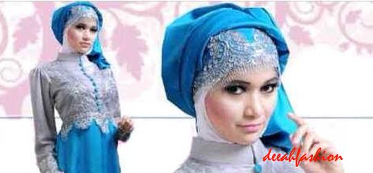 Gamis Renda Trend Baju Lebaran 2014