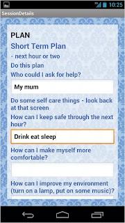 R U Suicidal Mental Health App