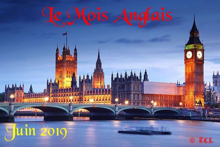 Mois anglais 2019
