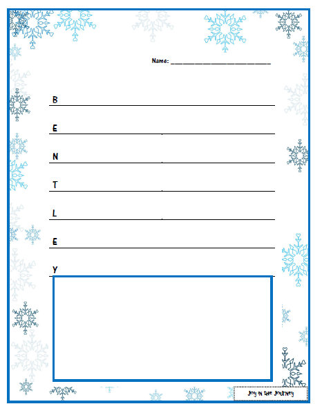 winter themed writing paper Glue the items together to make a paper snowman  check out more ideas above or use the snowman printables for your own christmas or winter-themed crafts and.