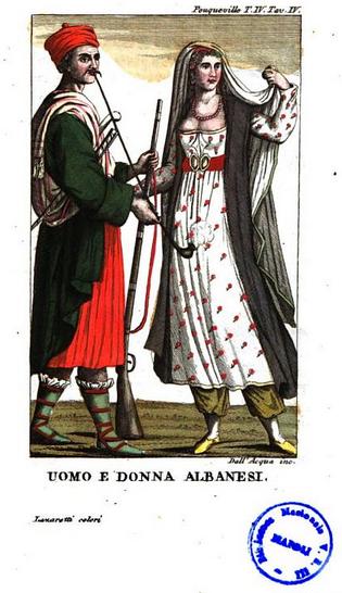 Uomo e Donna Albanesi