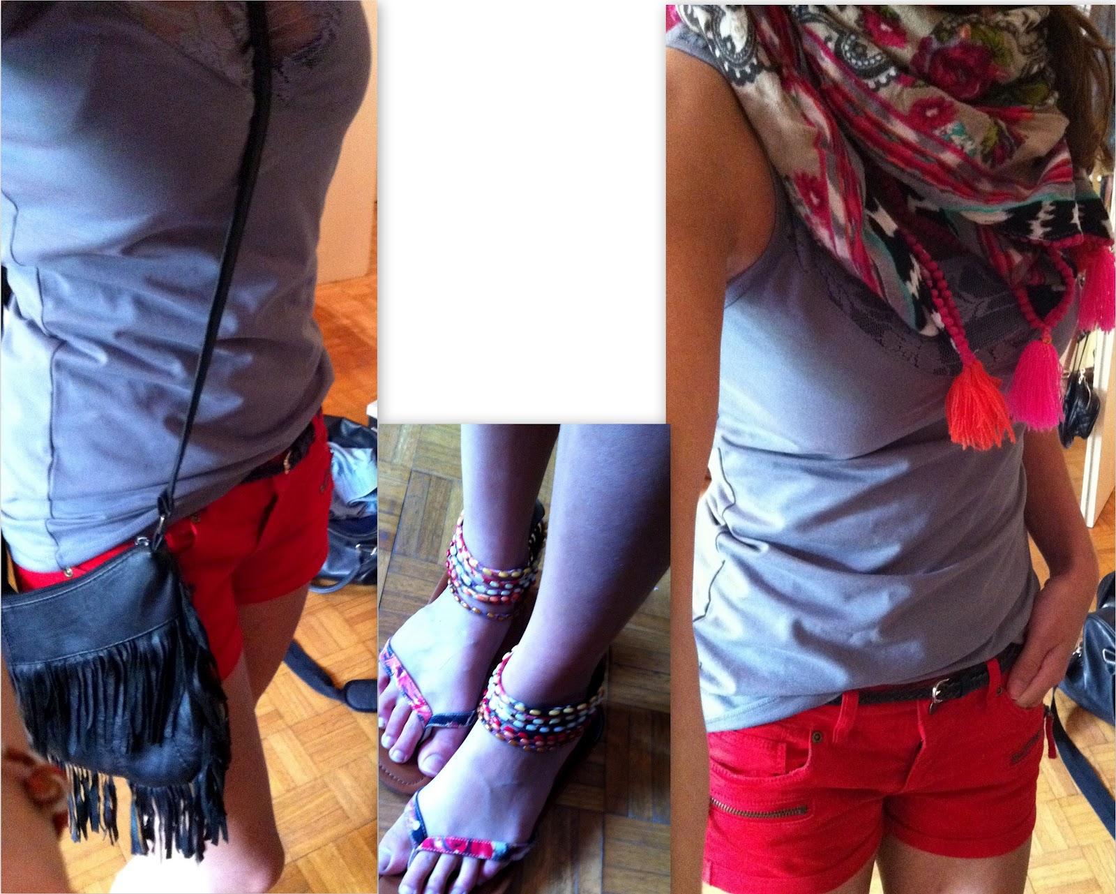 atcaccias rote shorts kombinieren. Black Bedroom Furniture Sets. Home Design Ideas