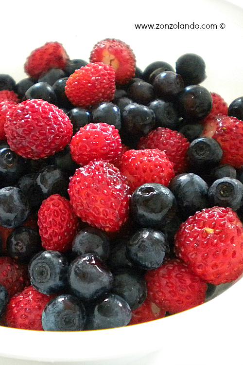 frutti di bosco fragoline lamponi mirtilli