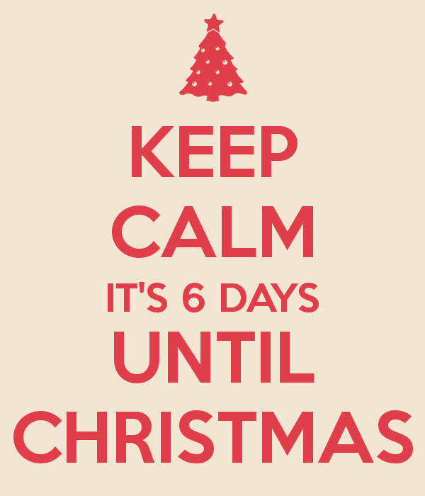 TRAVELS (and more) WITH CECILIA BRAINARD: Keep Calm Six Days Until ...