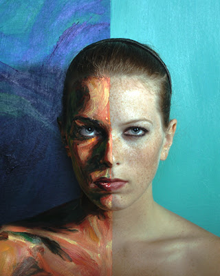 Real Live Paintings Photography by Alexa Meade half