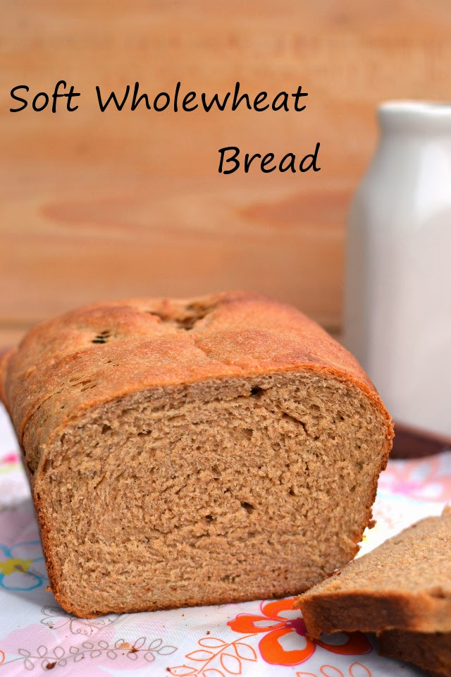 Soft Wholewheat Bread