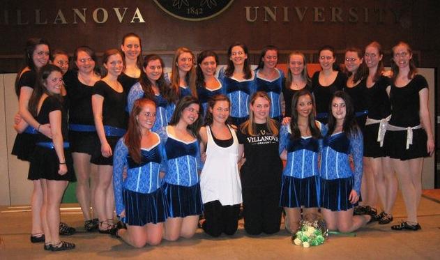 Adult Irish dance team at Villanova University - VIDEO