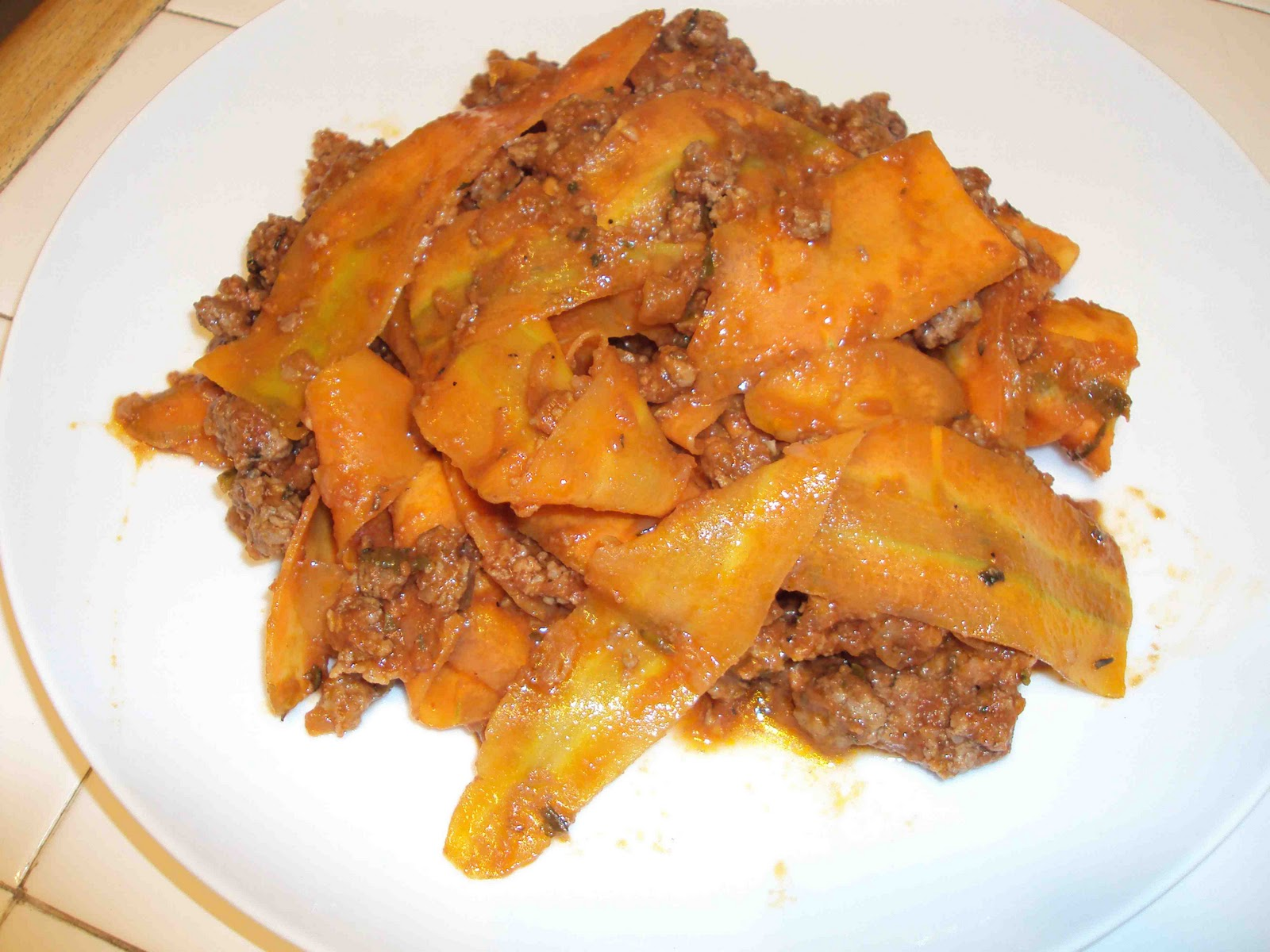Homemade Pappardelle With Bolognese Sauce Recipes — Dishmaps