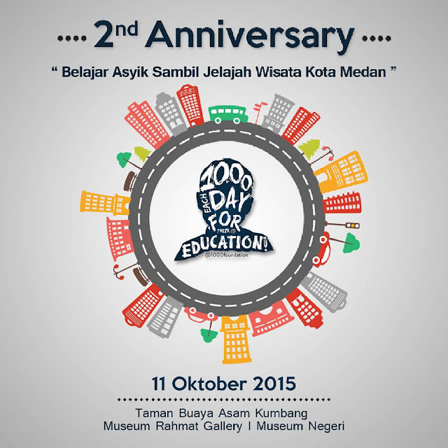 2nd Anniversary 1000 Foundation