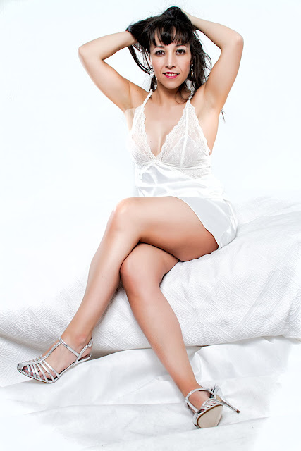 Silvia con lencería