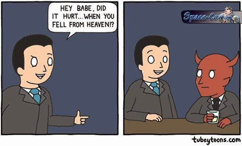 funny comics Lucifer picture