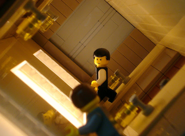 Replace Lego Joseph Gordon-Levitt with a black Lego man and now it's Lionel Richie's 'Dancing on the Ceiling' video.
