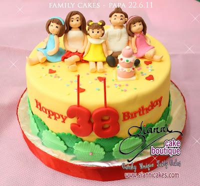 Birthday Cake Design For Papa : family-cake-papa-gianni-cakes.jpg (400x371) cakes- lady ...