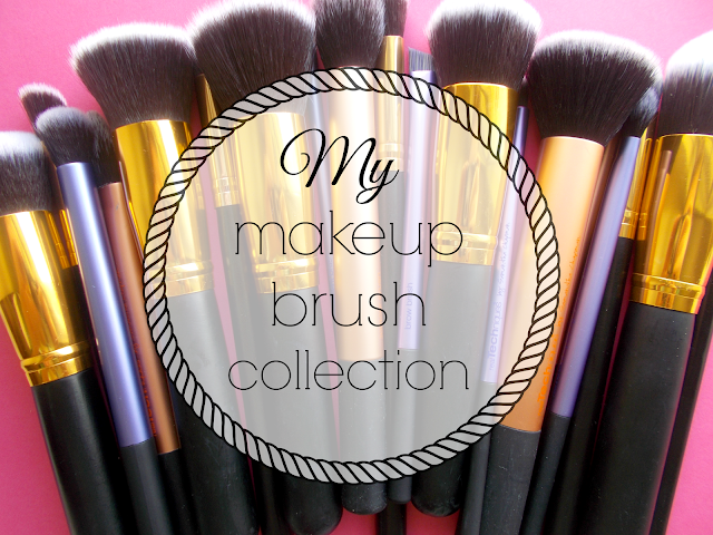 makeup brush collection beauty blogger real techniques core collection starter kit xcsource face eye brushes