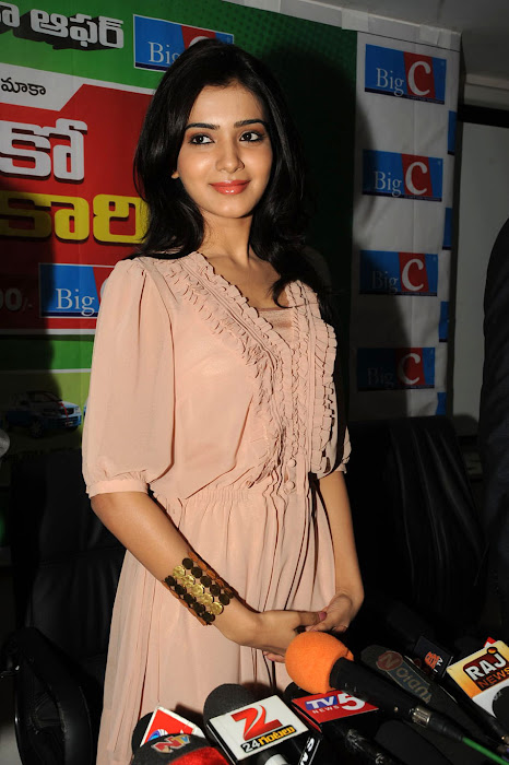 samantha new at big c event, samantha unseen pics