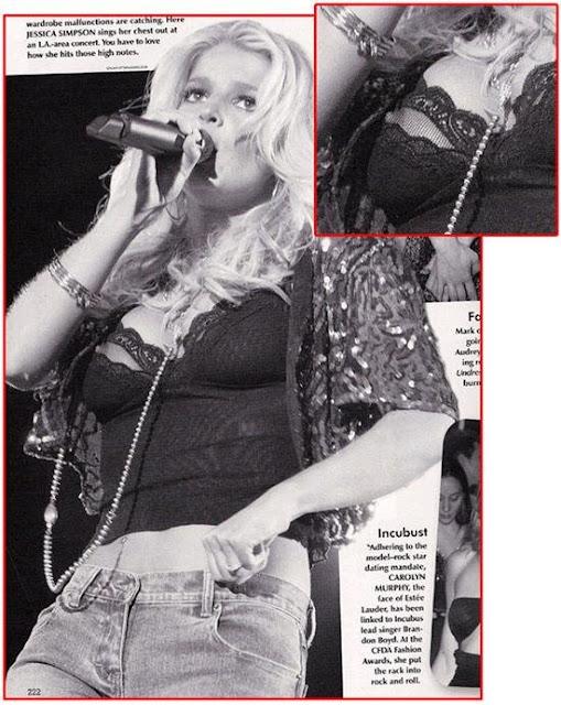 Jessica Simpson's Nip Slip - Live In Concert