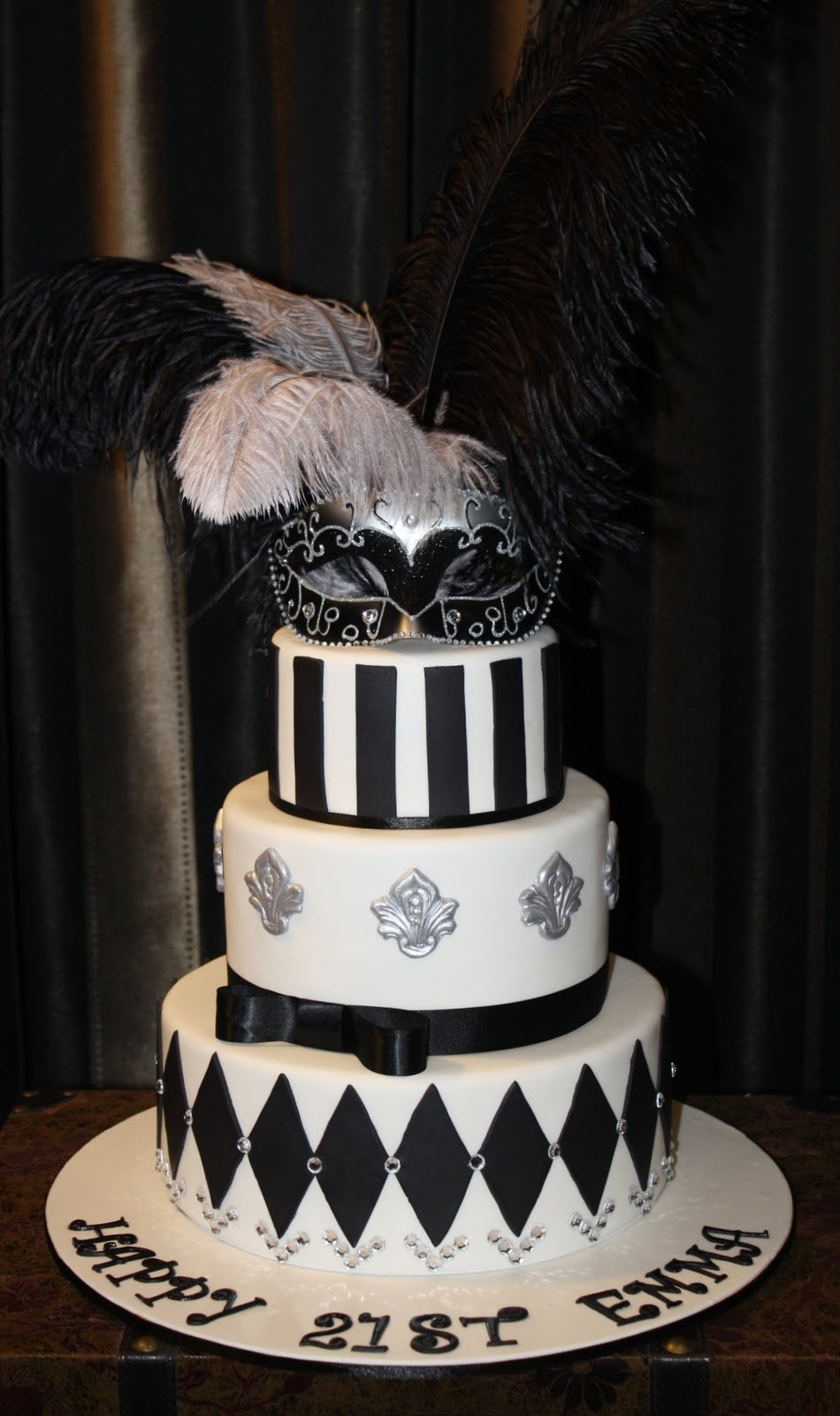 Quick Payday Loans >> Sandy's Cakes: Emma's Masquerade 21st