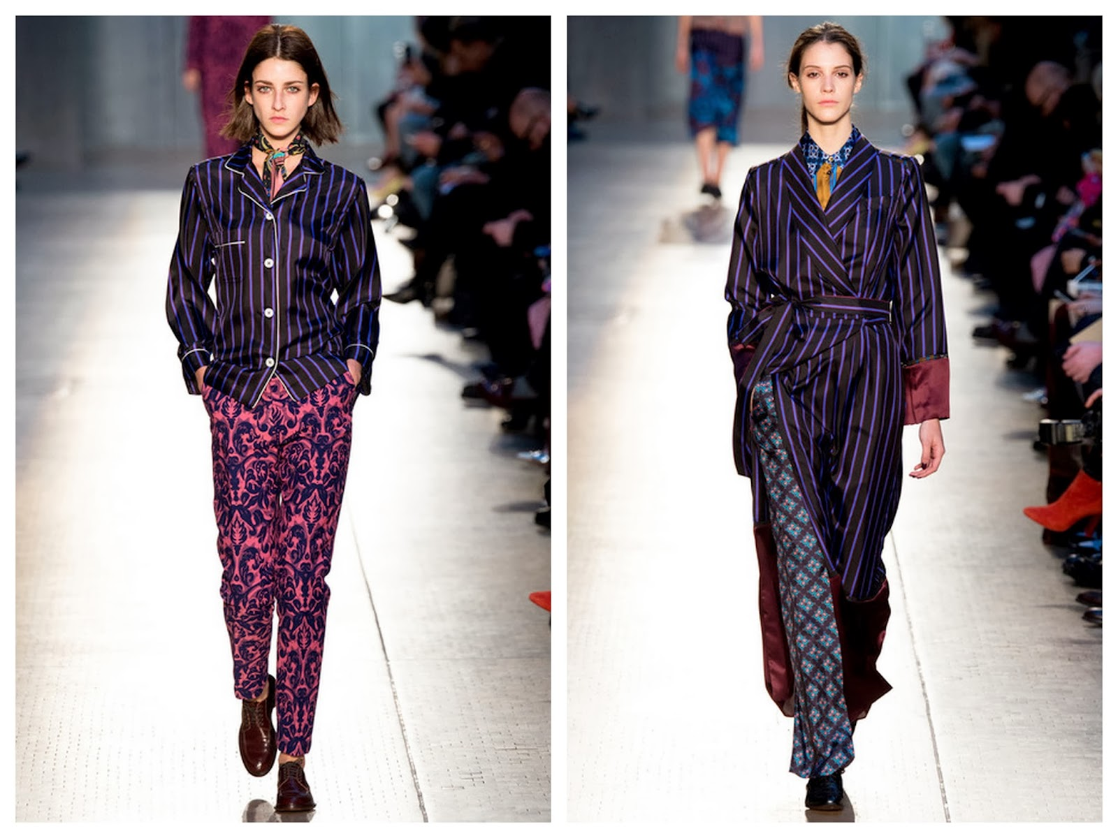paul smith,pyjama,soie,hiver 2014,fall 2014,londres,london fashion week