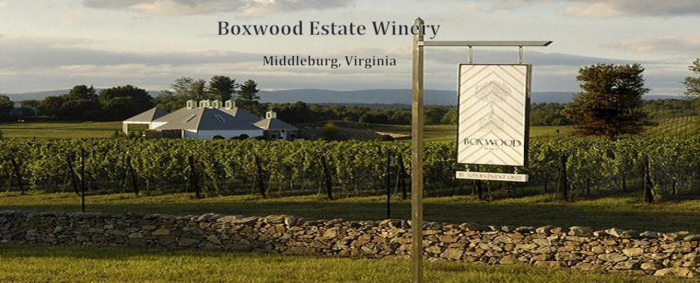 Boxwood Estate Winery