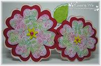 kaart-duo bloem