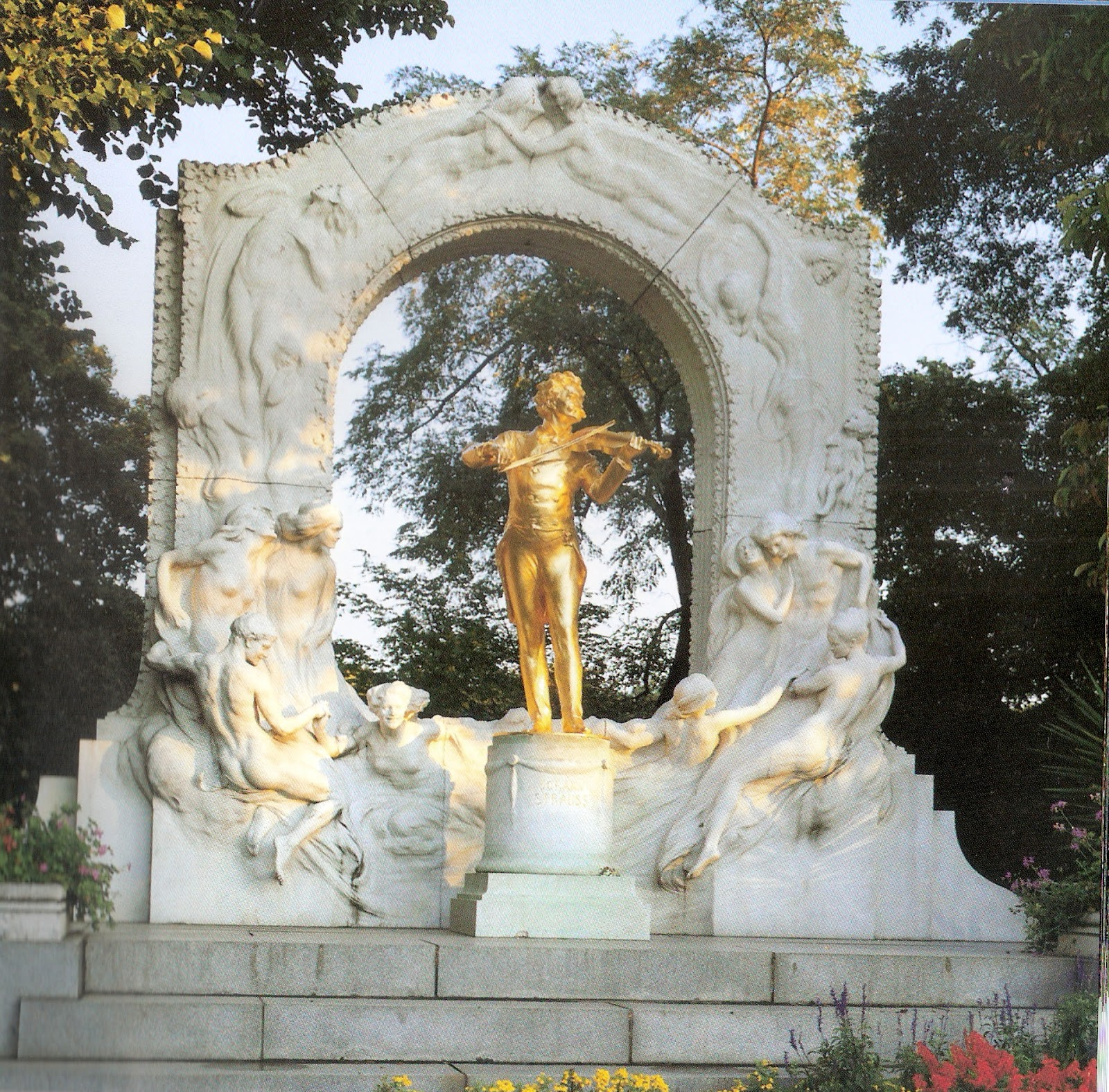 Strauss Memorial,Vienna
