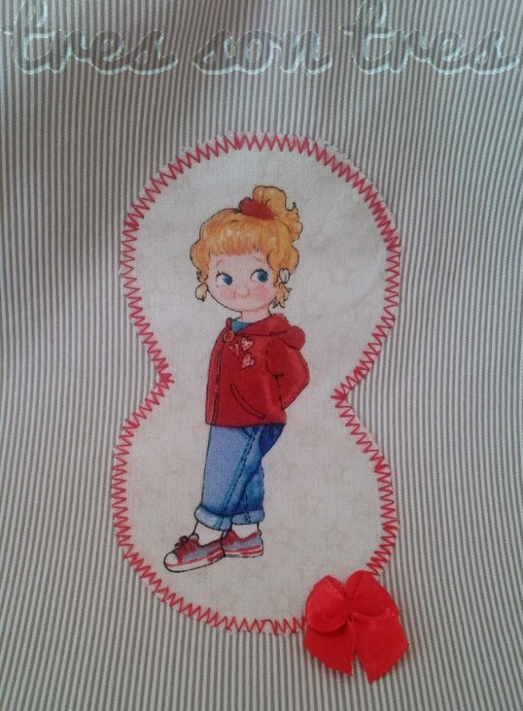 sewing, costura, niños, bolsa