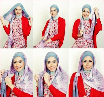 Mode: Cara Memakai Jilbab Cantik
