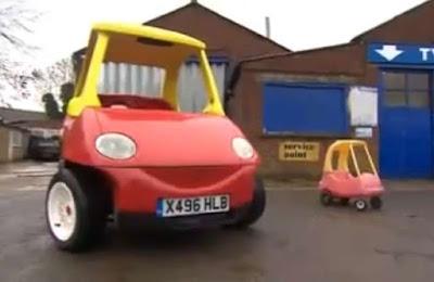 Το διάσημο παιδικό αυτοκινητάκι
