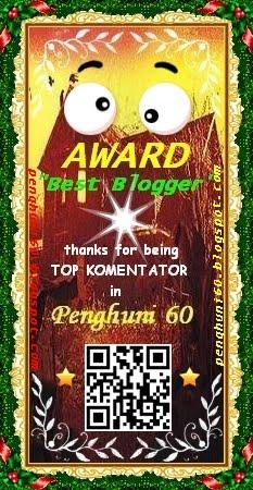 Award Top Komentator Penghuni 60