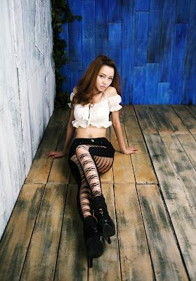 Seo Jin Ah Sexy Korean Model