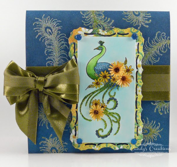 #HeartfeltCreations #PeacockPaisley #Daisy #HandmadeCards #MayArts #WowEmossing