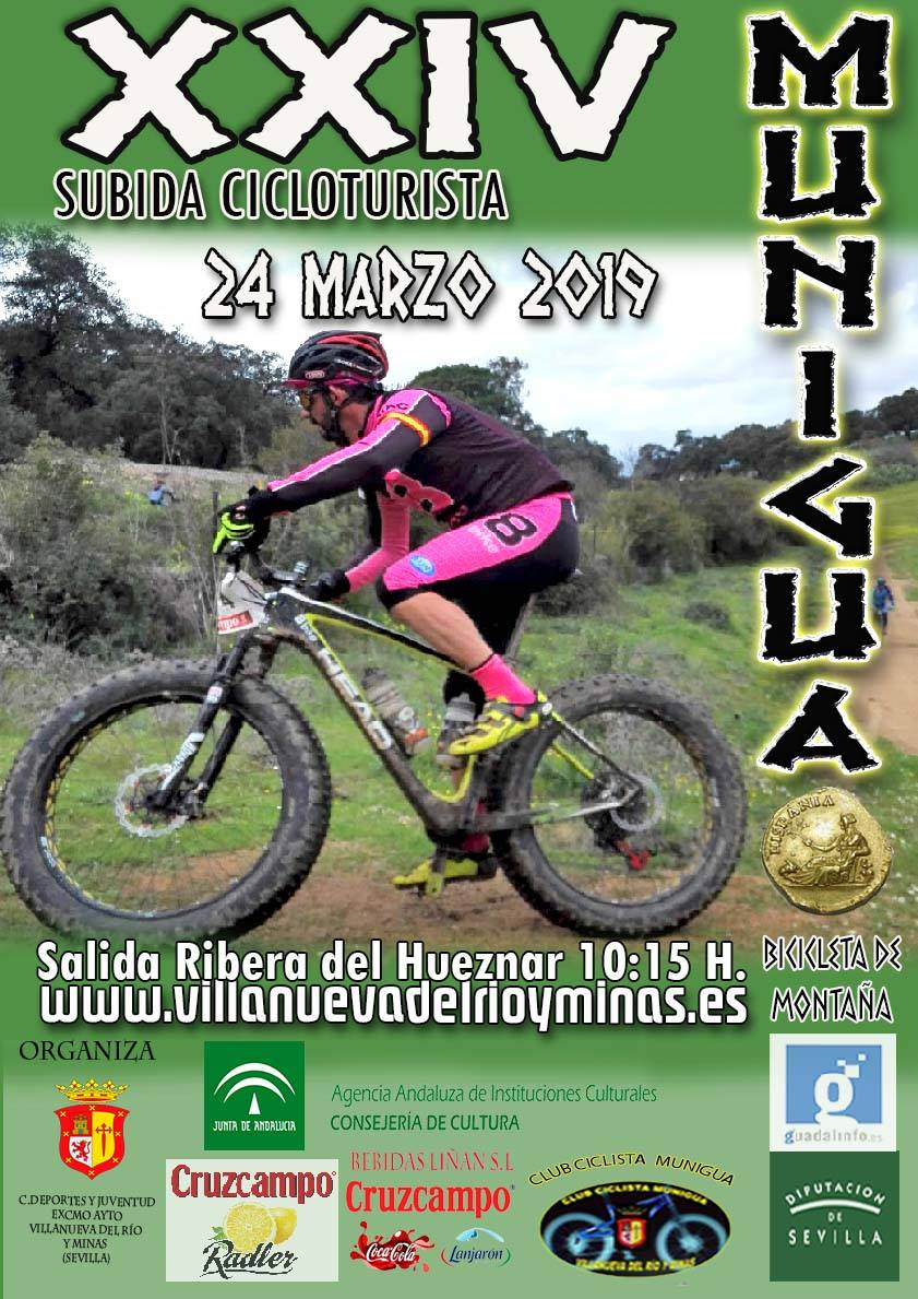 XXIV SUBIDA CICLOTURISTA A MUNIGUA 24 DE MARZO DE 2019