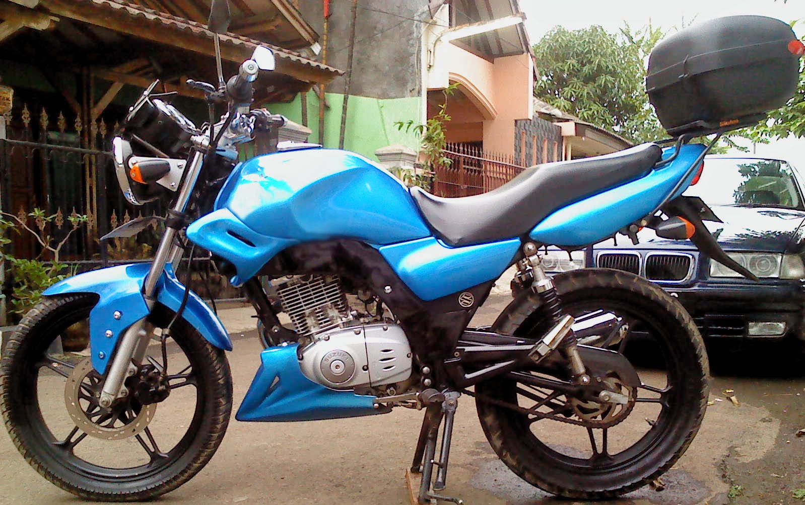Foto Modifikasi Motor Suzuki Thunder 125 Modif Sport