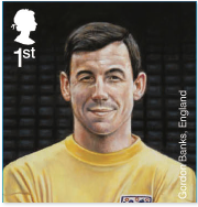 Gordon Banks stamp.