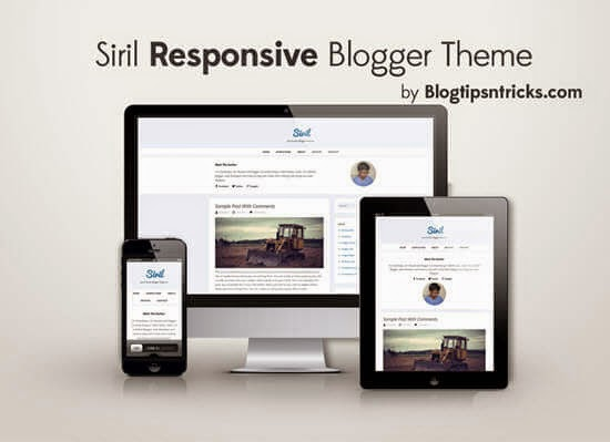 Siril - A Responsive Blogger Template