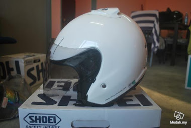 Shoei J Force2 Putih