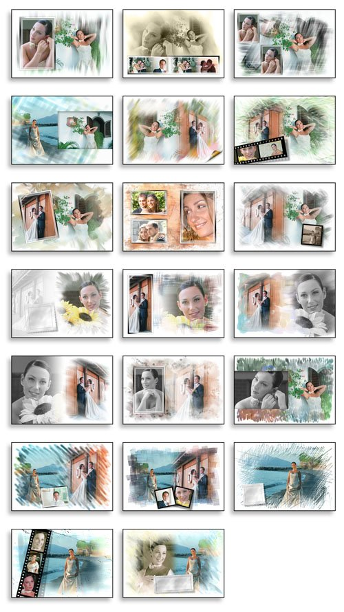 Creative Album PSD Wedding Collection VOL 3