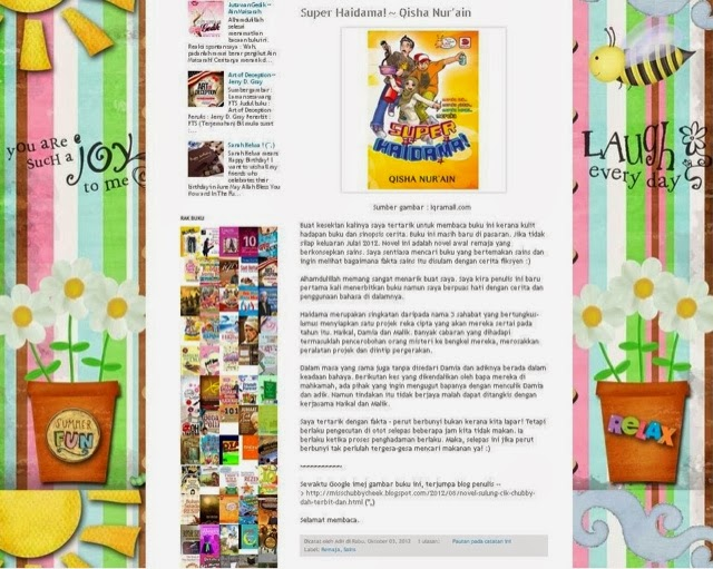 Review Pembaca(Blogger)