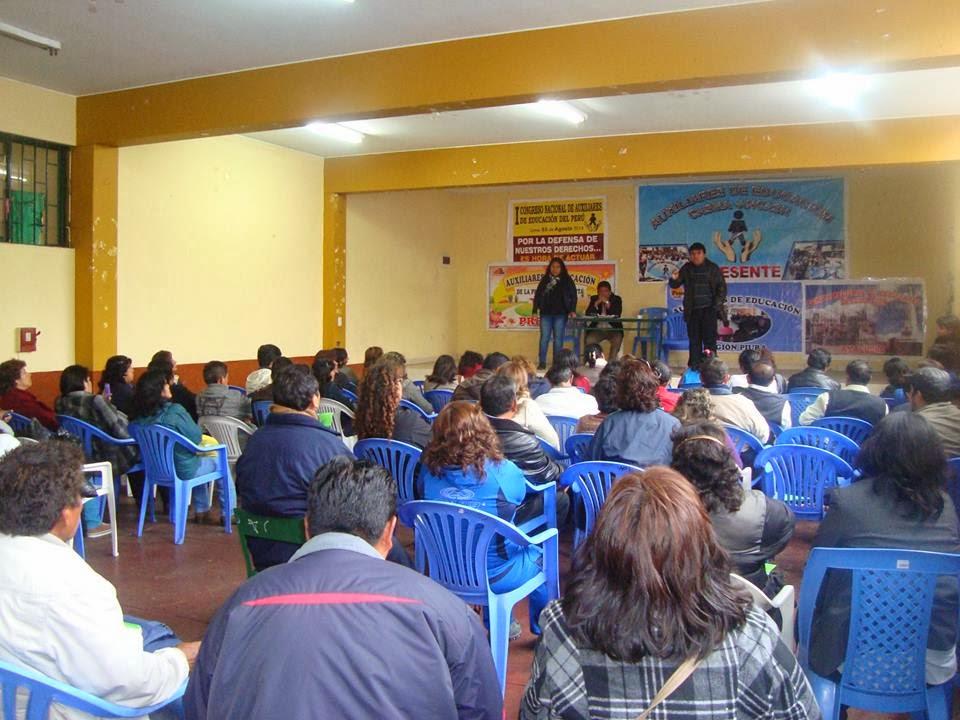 I CONVENCION NACIONAL EN LIMA