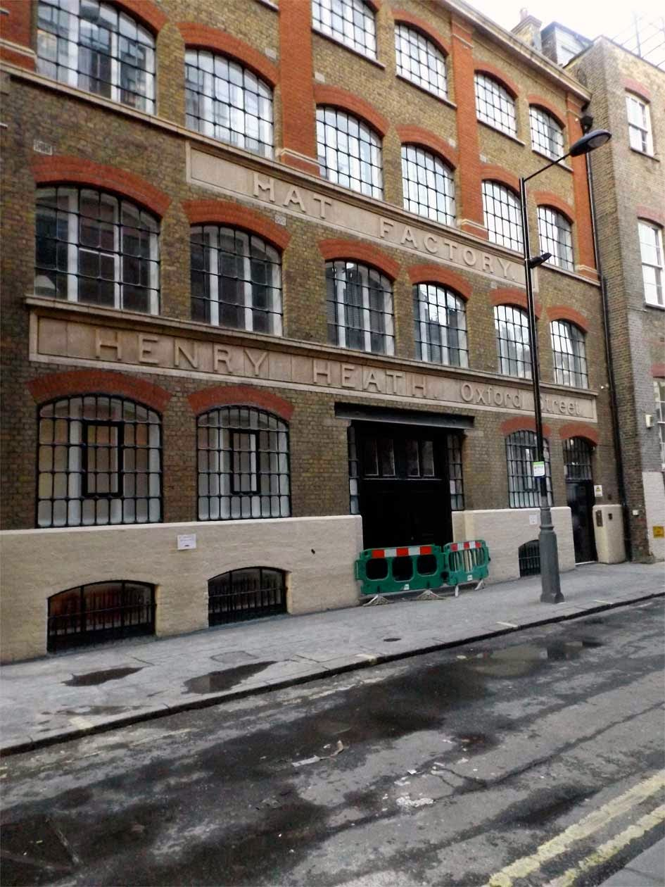 henry heath hat factory soho