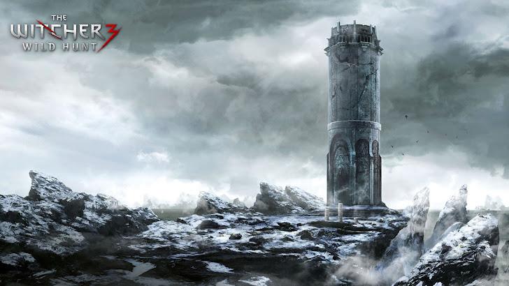 the witcher 3 wild hunt game frozen landscape