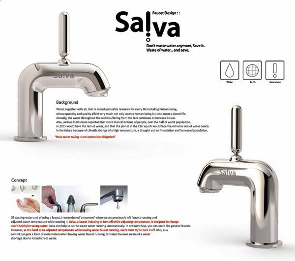 Инновационный смеситель Salva